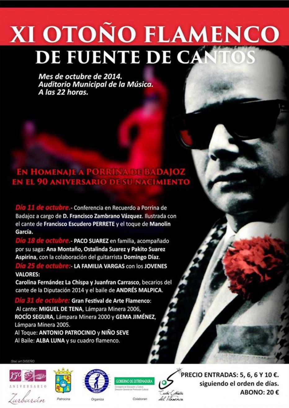 Otoño Flamenco en Fuente de Cantos