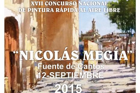 XVII CONCURSO NACIONAL DE PINTURA RÁPIDA AL AIRE LIBRE