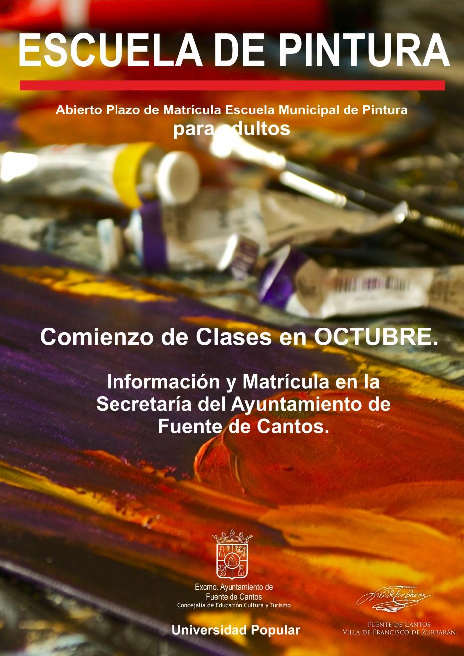 Escuela de Pintura para adulto y Niños.