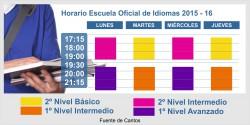 Calendario Escuela de IDIOMAS