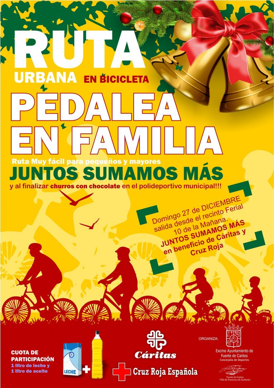 Ruta Urbana PEDALEA EN FAMILIA 27 Diciembre