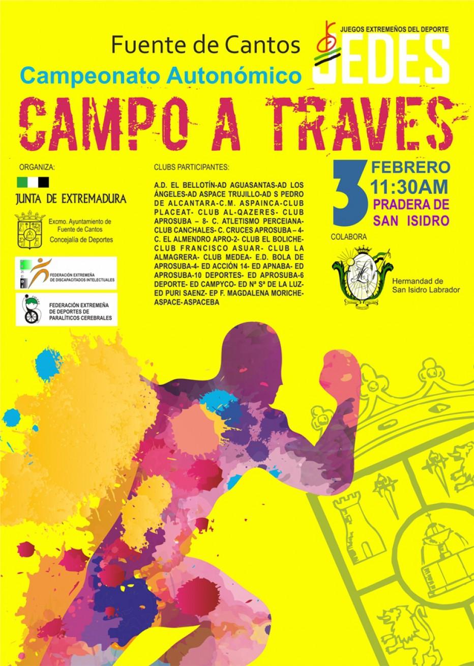 Campeonato Autonómico de Campo A Través 3 de Febrero