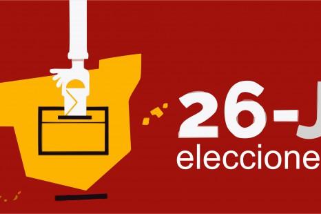 Presidentes y vocales elecciones 26-J.