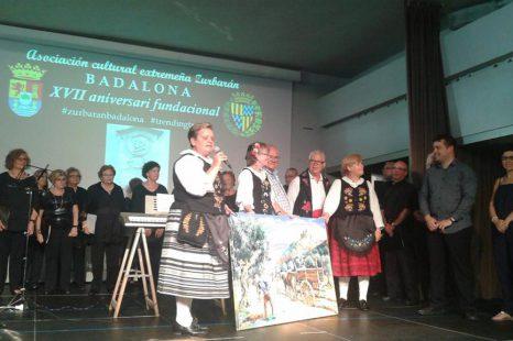 """Gala de la Asociación Cultural Extremeña """"Zurbarán"""" en el Centro Cívico """"La Salut"""""""