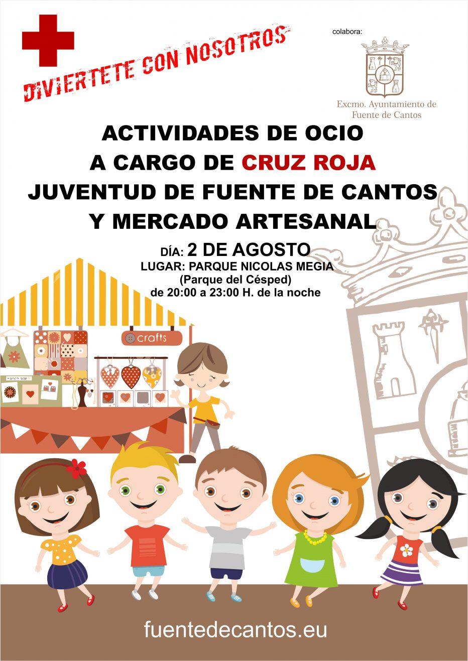 Actividades de Ocio a cargo de Cruz Roja – 2 de Agosto