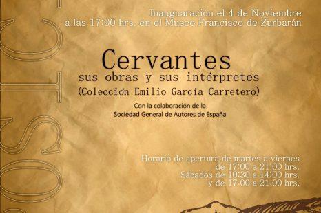 4 NOVIEMBRE Inauguración de la Exposición Cervantes sus Obras y sus Intérpretes