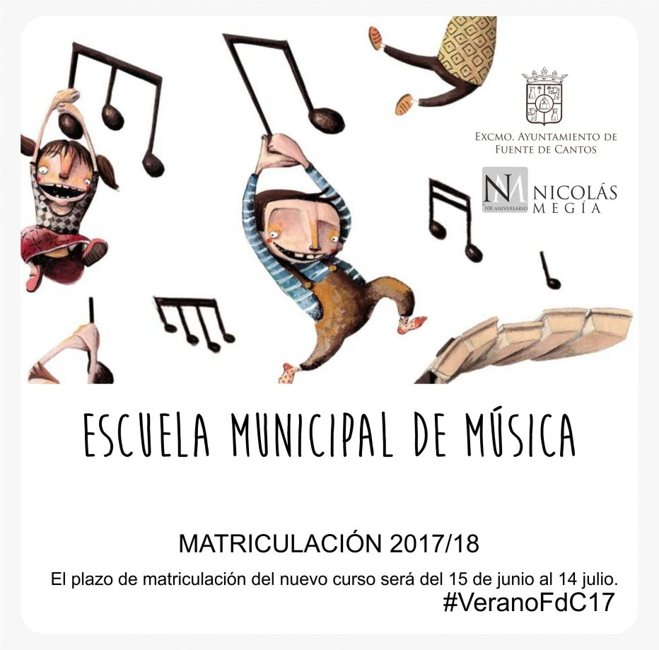 Escuela Municipal de Música Matrícula 2017/18