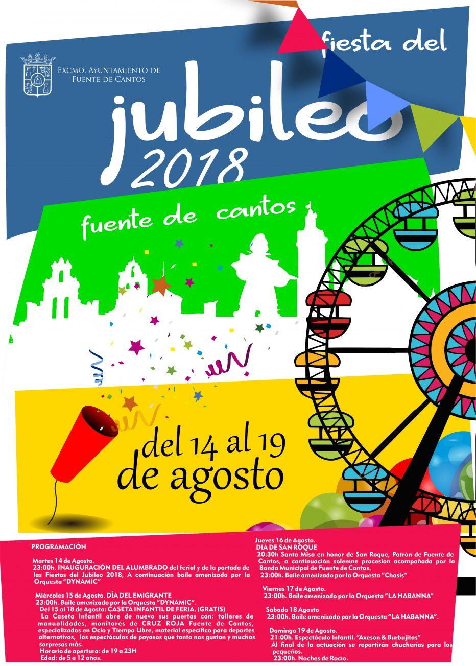 Feria de AGOSTO. Fiesta del JUBILEO