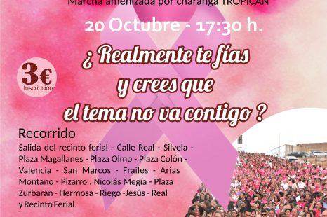 20-O: cita con la solidaridad y la concienciación en la IV Marcha Rosa