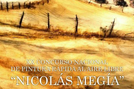 """XX CONCURSO NACIONAL DE PINTURA RÁPIDA AL AIRE LIBRE """"NICOLÁS MEGÍA"""""""