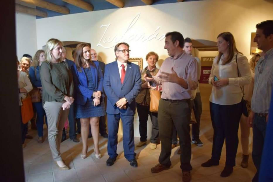 Del Moral inaugura el Centro de interpretación de la Casa de Francisco de Zurbarán