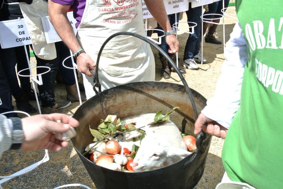 Fiesta de la Chanfaina en Fuente de Cantos.