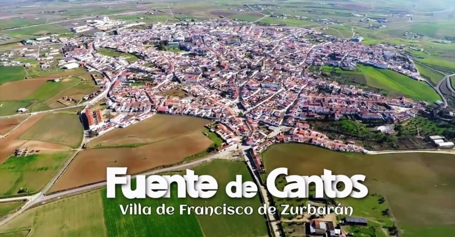 Video Presentación Fuente de Cantos Villa de Zurbarán