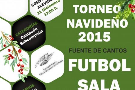 Torneo Navideño de Futbol Sala 2015