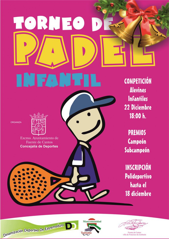 Torneo de Pádel Infantil – 22 DICIEMBRE