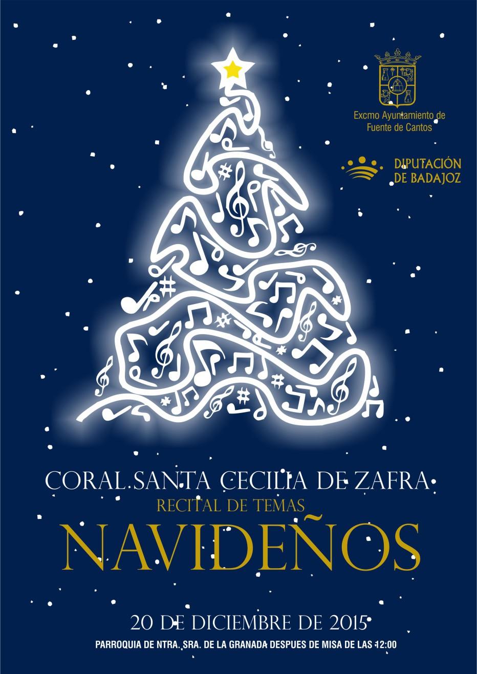 Recital de Temas Navideños el 20 de Diciembre