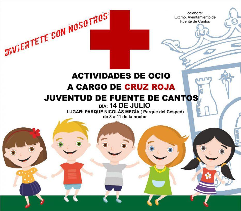 ACTIVIDADES DE OCIO A CARGO DE CRUZ ROJA ( 14 de Julio )