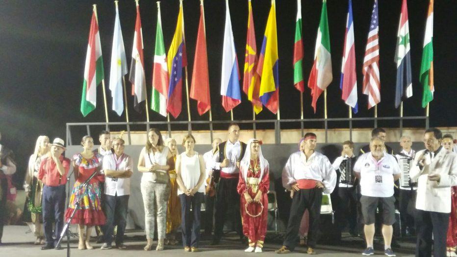MÚSICA, CANTO, DANZA Y COLORIDO EN FUENTE DE CANTOS FESTIVAL FOLKLÓRICO INTERNACIONAL
