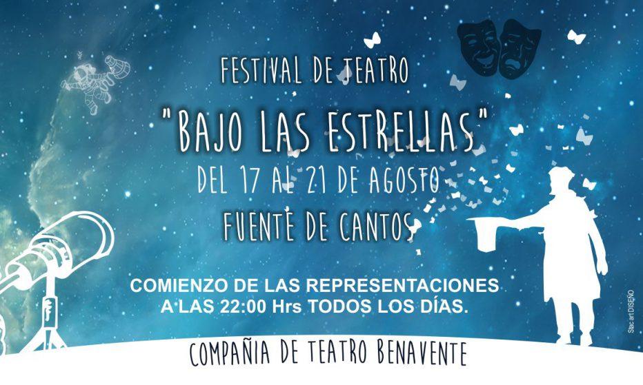 """Festival de Teatro """"Bajo las Estrellas""""."""