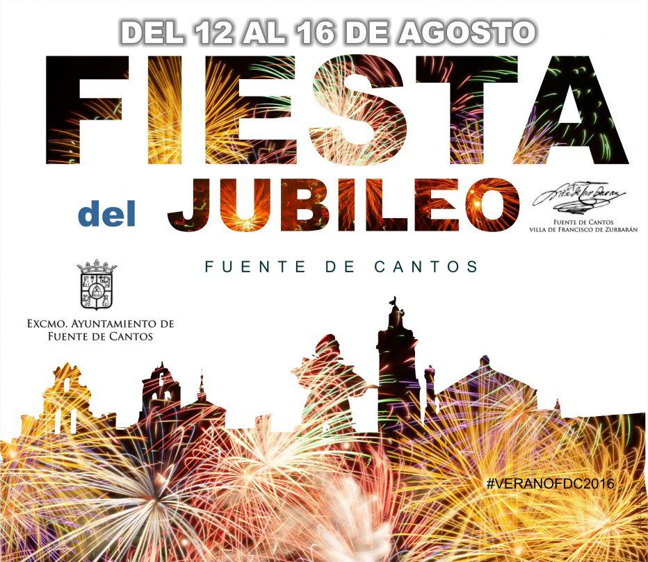 Fiesta del Jubileo. Fuente de Cantos 2016