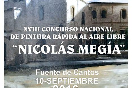"""XVIII CONCURSO NACIONAL DE PINTURA RÁPIDA AL AIRE LIBRE """"NICOLÁS MEGÍA"""""""