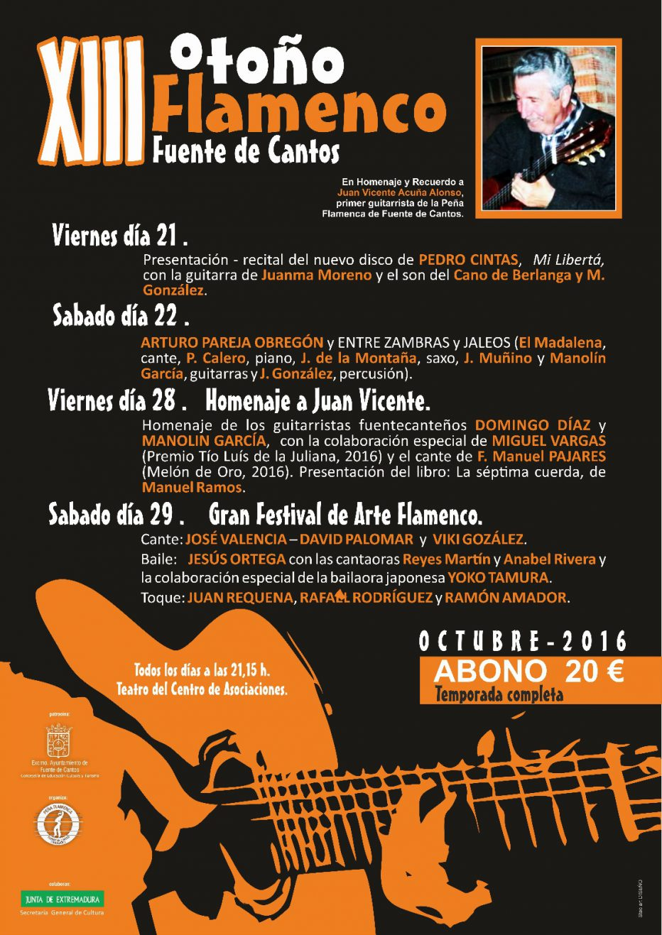 Otoño Flamenco 2016