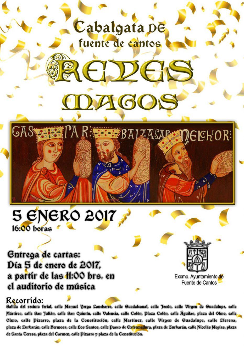 Cartel de Reyes Magos 2017