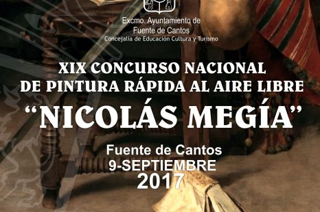 9 de Septiembre – XIX Concurso Nacional de Pintura Rápida al Aire Libre NICOLÁS MEGÍA