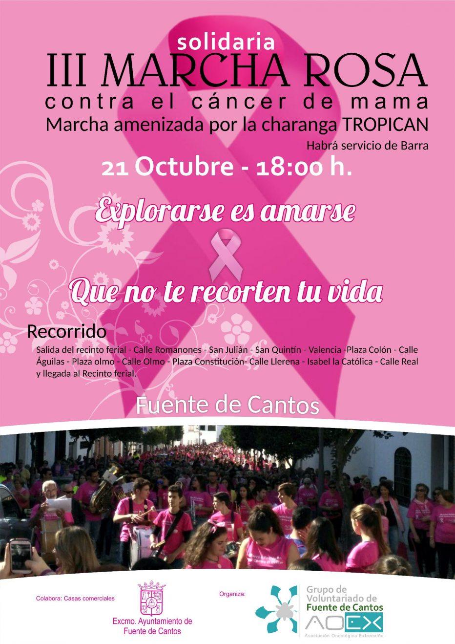 III Marcha Rosa Solidaria #MarchaRosa
