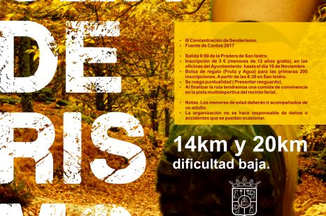 Ruta de Senderismo 2017.