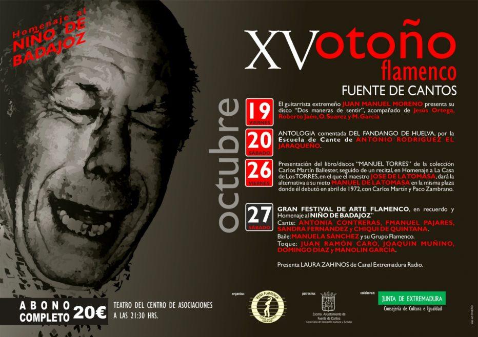 XV Otoño Flamenco #Fuentedecantos