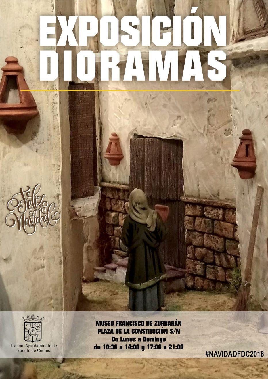 Exposición de DIORAMAS Navideños en Fuente de Cantos