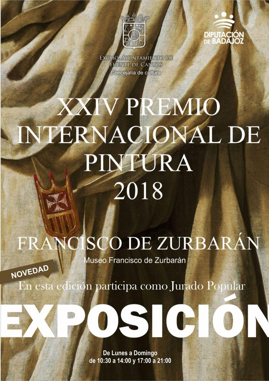 Inauguración del Premio de Pintura Francisco de ZURBARÁN