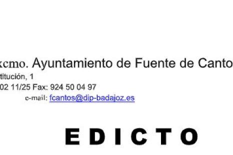 EDICTO