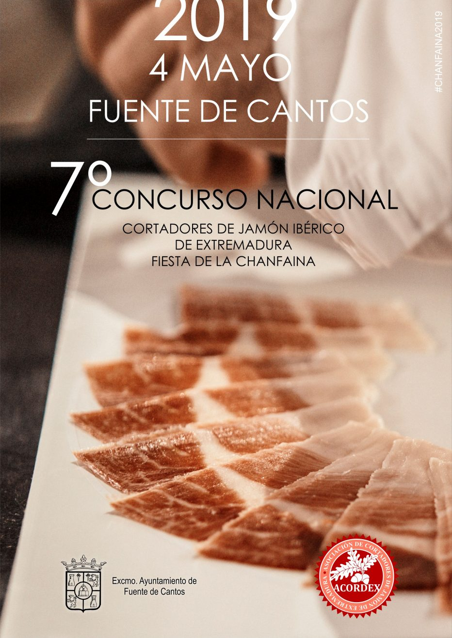 7º Concurso Nacional de Corte de Jamón en Fuente de Cantos – CHANFAINA
