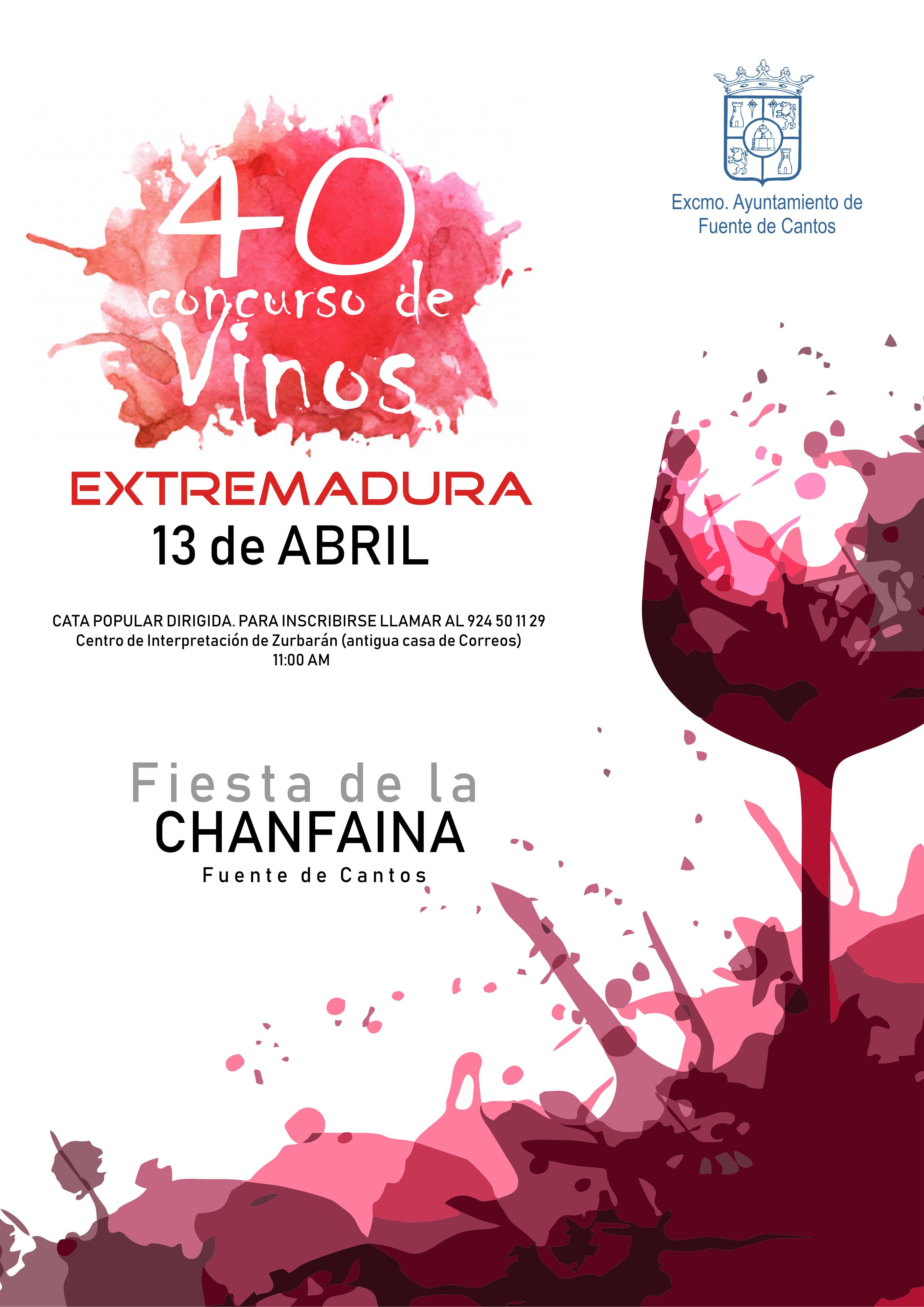 cartel vinos chanfaina2019