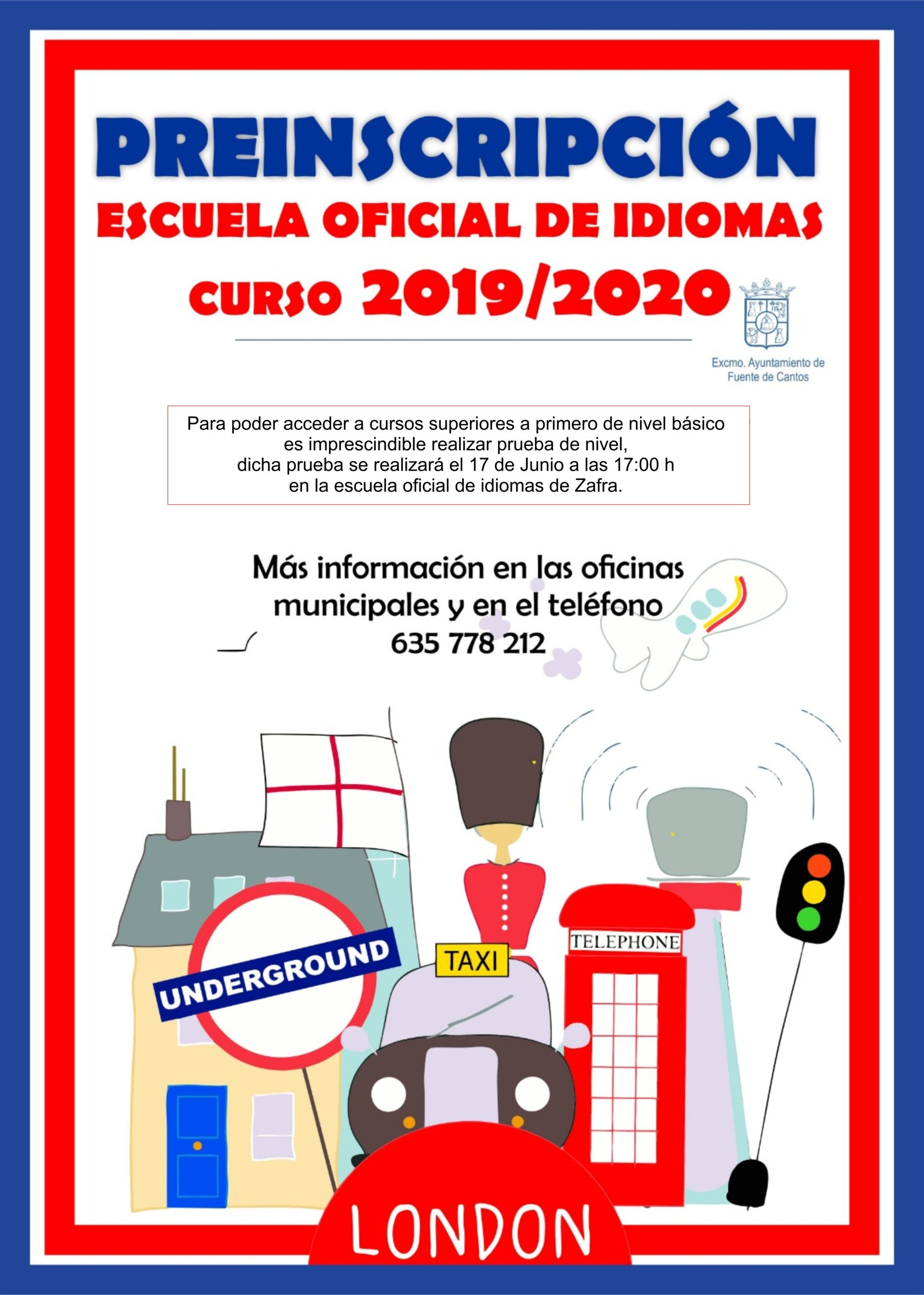 INGLES 2019 Escuela Oficial de idiomas