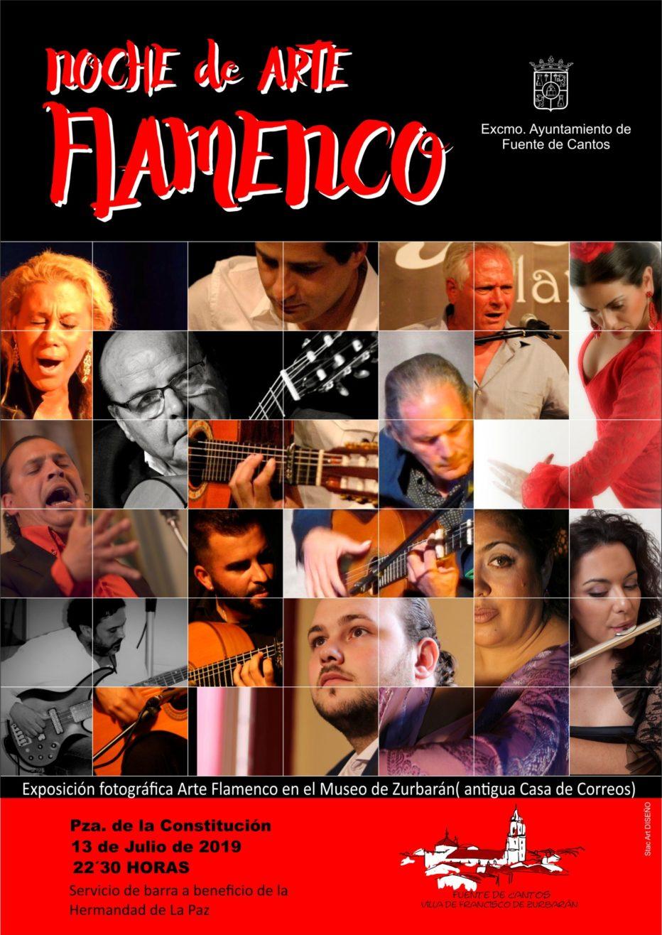 Noche de Arte Flamenco y Exposición fotográfica.