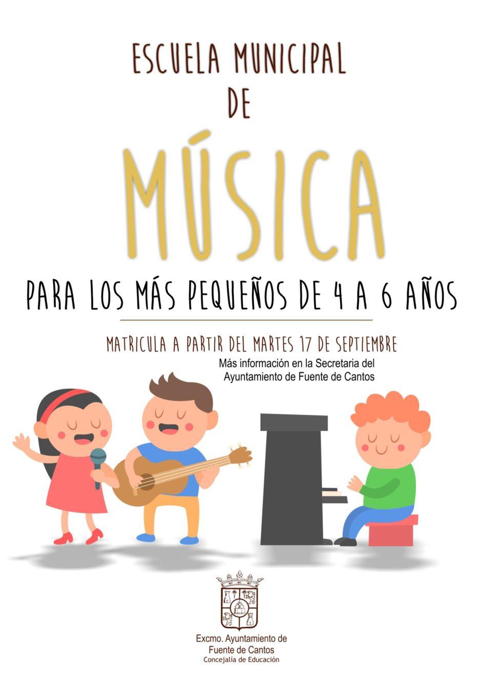 Eduacación Musical Niños – MATRÍCULA