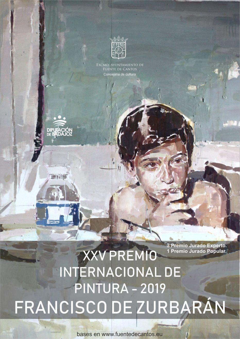 XXV PREMIO INTERNACIONAL DE PINTURA – 2019 FRANCISCO DE ZURBARÁN