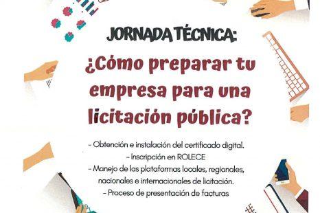 Jornada sobre licitación pública
