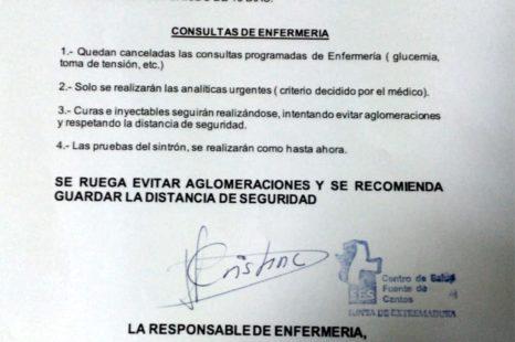 CONSULTAS DE ENFERMERÍA