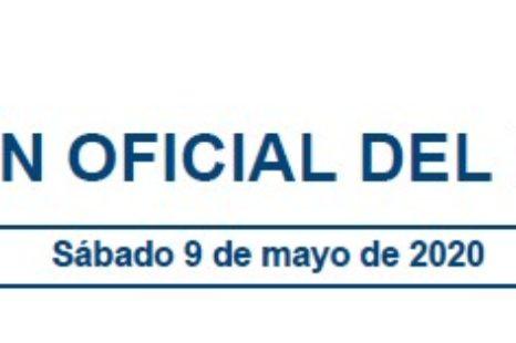 Nueva Orden SND/399/2020, de 9 de mayo . FASE 1 hacia una nueva normalidad
