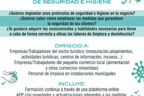 FORMACIÓN ONLINE GRATUITA PARA IMPLANTAR PROTOCOLOS DE SEGURIDAD E HIGIENE EN LOS ESTABLECIMIENTOS Y COMERCIOS DE TENTUDÍA