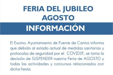 INFORMACIÓN – FERIA DE AGOSTO
