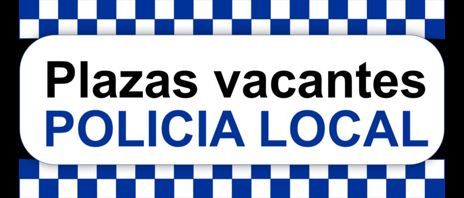 Vacantes Policía Local