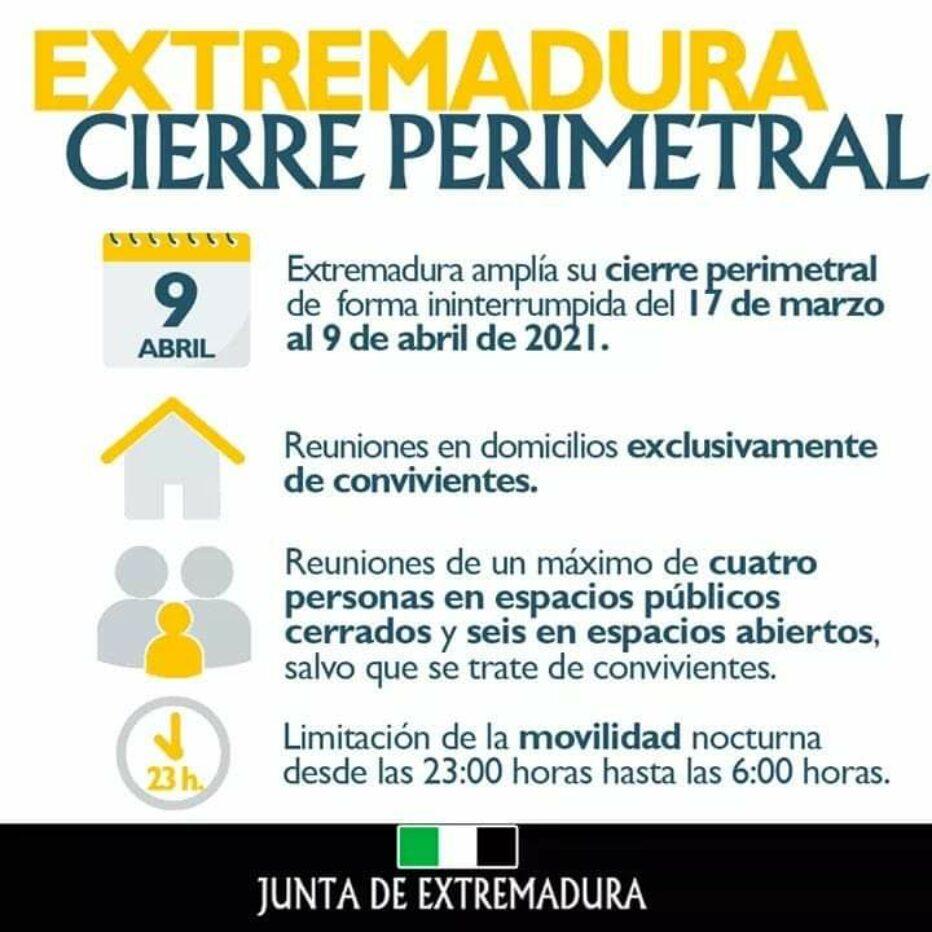 Extremadura Cierre Perimetral
