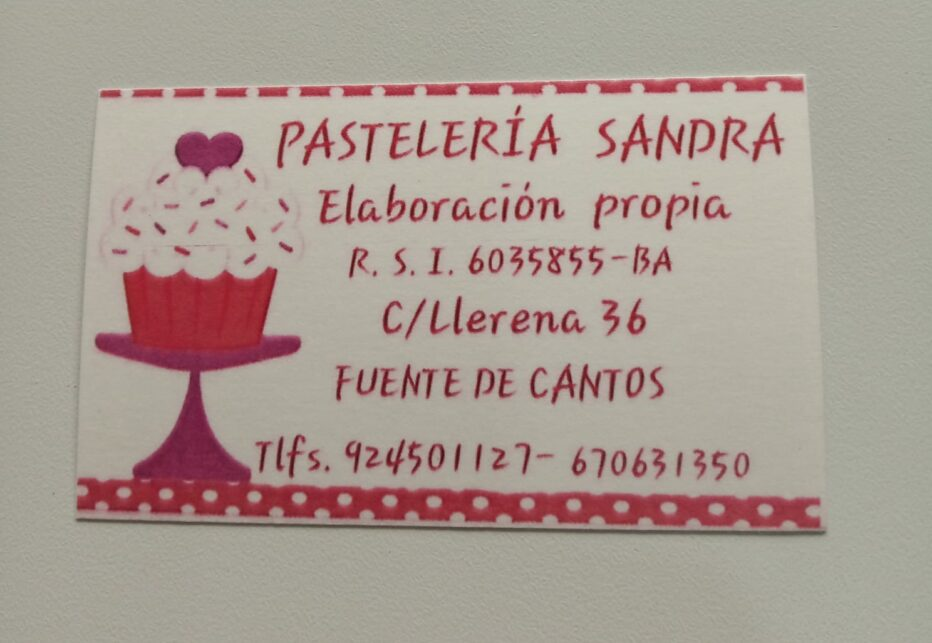 Pasteleria Sandra