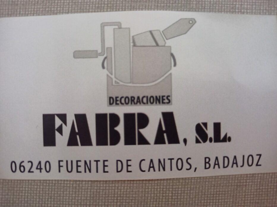 PINTURAS DROGUERÍA Fabra S.L