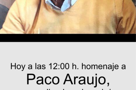 Homenaje a Paco Araujo